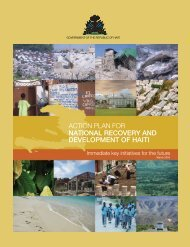 Action Plan for National Recovery and Development of Haiti - Global ...