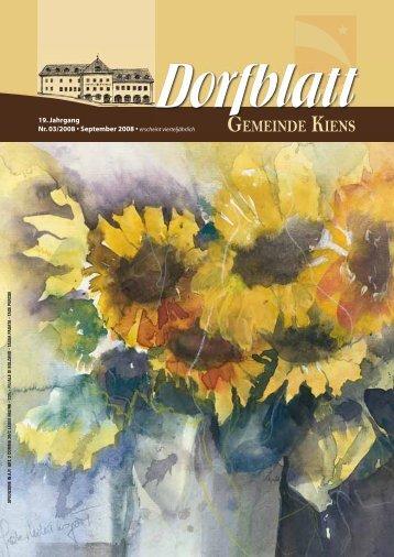 Dorfblatt 03 2008