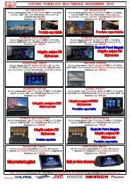 Listino GMA Pubblico Multimedia Nov 2010 - GMA ITALIA srl