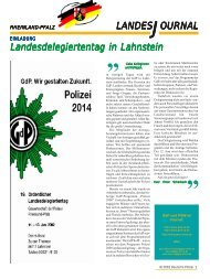 Journal Juni 2002 - gdp-deutschepolizei.de