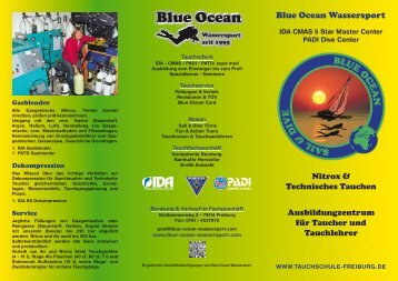 Flyer 2012 TEC - Blue Ocean Wassersport