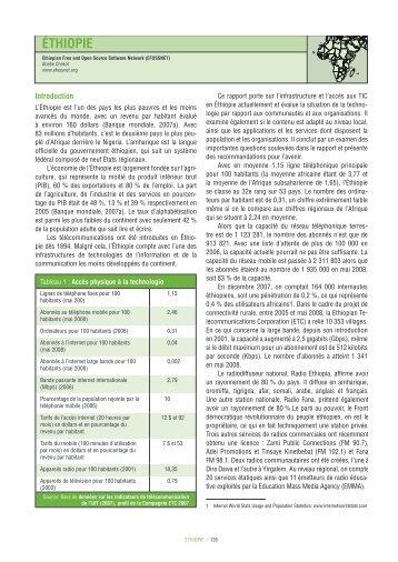 ÉTHIOPIE - Global Information Society Watch