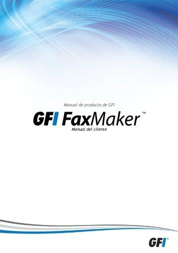 2 Instalación de clientes GFI FaxMaker - GFI.com