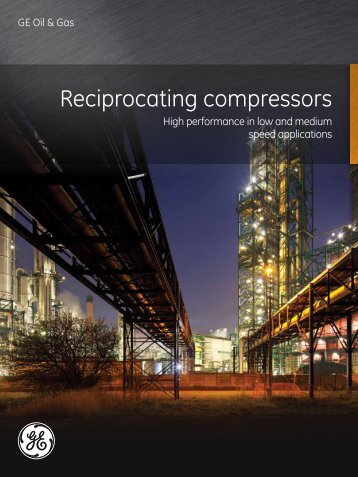 Reciprocating Compressors / PDF 751kb - GE Energy