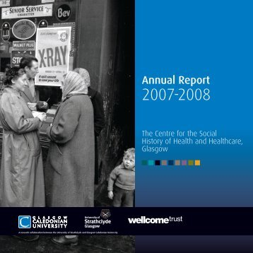Annual Report 2007-2008 - Glasgow Caledonian University