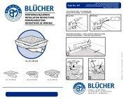 BLÜCHER® Drain Domestic Duschabläufe MINI für ...