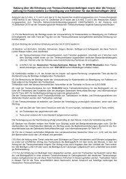 Satzung der Hessischen Tierseuchenkasse über Erhebung