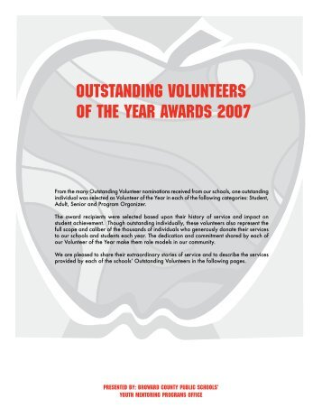 OUTSTANDING VOLUNTEERS of the year awards 007 - Get Involved