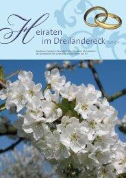 Heiraten im Dreiländereck - Stadt Lörrach