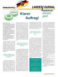 Klarer Auftrag! - gdp-deutschepolizei.de