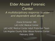 Elder Abuse Forensic Center