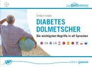 DIABETES DOLMETSCHER - Gesundheitsberatung