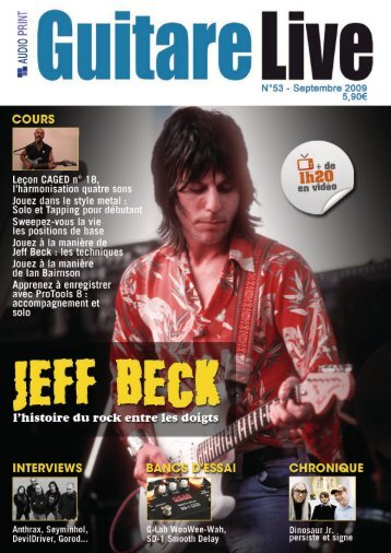 Jeff Beck - G LAB