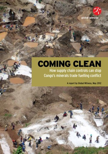 COMING CLEAN - Global Witness