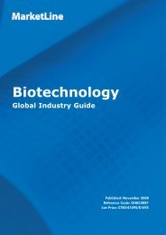 Biotechnology - Business Insights