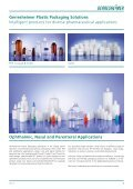 Ophthalmic, Nasal and Parenteral Applications - Gerresheimer - Page 3