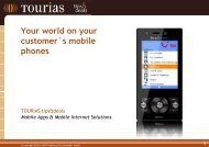 Your world on your customer`s mobile phones - Giata