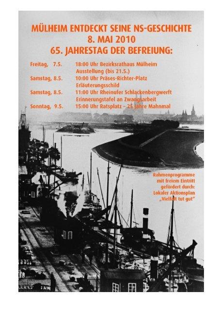 der Flyer zum downloaden. - Geschichtswerkstatt Mülheim
