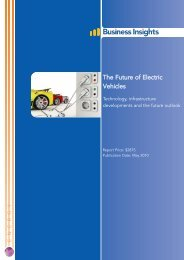 The Future of Electric Vehicles - Business Insights