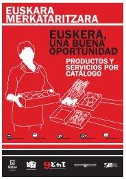 Servicios y subvenciones. Catálogo - Getxo