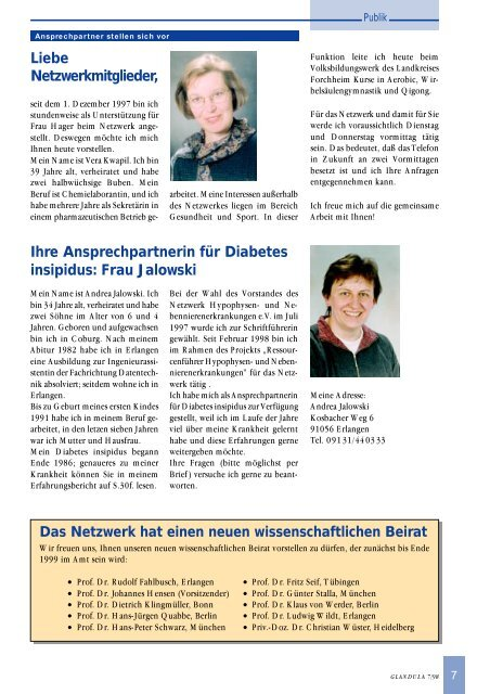 Diabetes insípida de Peter Schwarz