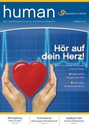HUMAN Ausgabe 02/2013 - gesund-in-ooe.at