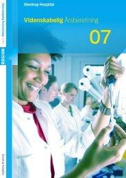 Du kan downloade hele årsberetningen her (pdf) - Glostrup Hospital