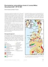 Geological Survey of Denmark and Greenland Bulletin 7 ... - Geus