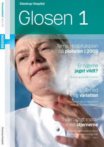 plakaten i 2009 - Glostrup Hospital