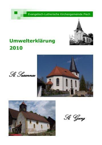 Umwelterklärung 2010