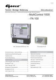 MC 1000 - Gerco
