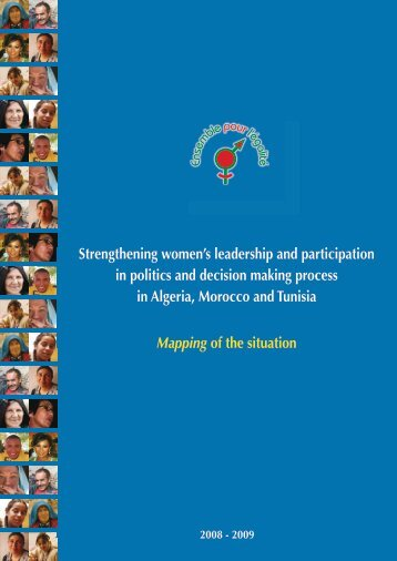 Strengthening women's leadership and participation in politics and ...