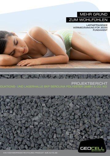 produktions- und lagerhalle bkp berolina polyester gmbh & co. kg