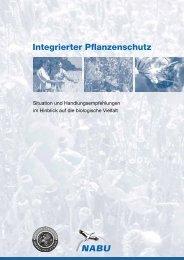 Integrierter Pflanzenschutz - Gregor Louisoder Umweltstiftung