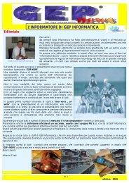 GEP NEWS OTT 2006 - GEP Informatica Srl