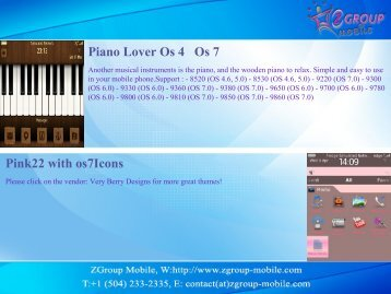 Piano Lover Os 4 Os 7 Pink22 with os7Icons - Get Mobile game