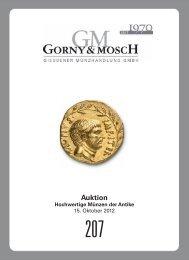 Auktion 207 - Gorny & Mosch GmbH