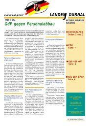 Journal Januar 2004 - gdp-deutschepolizei.de