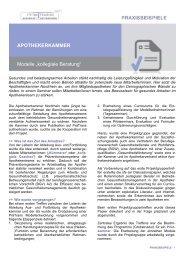Apothekerkammer - gesundheit-unternehmen.de
