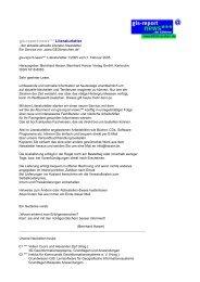 gis-report-news*** Literaturletter - GeoBranchen