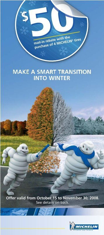 MAKE A SMART TRANSITION INTO WINTER - GM Canada