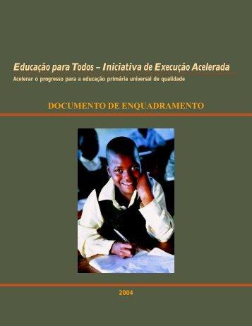 Iniciativa de Execução Acelerada - Global Partnership for Education