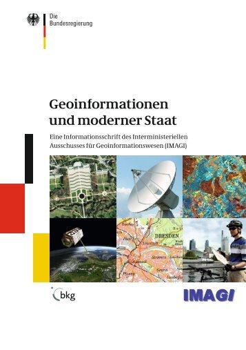 Geoinformationen und moderner Staat · Eine ... - Geoportal.de