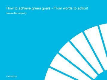 Best practices Motala.pdf - Go.. Green.. Now!