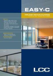 EASy-c - LCC: Metalen plafonds en klimaatplafonds