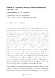 Lehrwerke im Fremdsprachen-unterricht ... - GFL-Journal