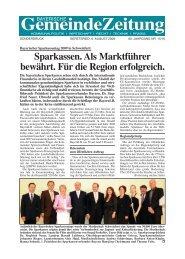 bayerischer sparkassentag 2 gz - Bayerische Gemeindezeitung