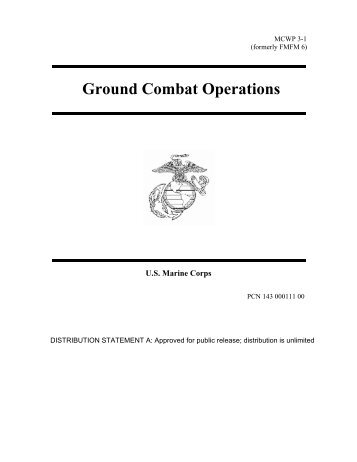 MCWP 3-1 Ground Combat Operations - GlobalSecurity.org