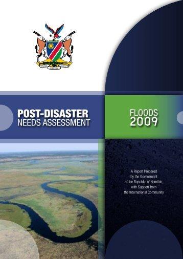 Namibia PDNA 2009 - GFDRR