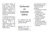 05 Cacherout - Communauté Israélite Libérale de Genève